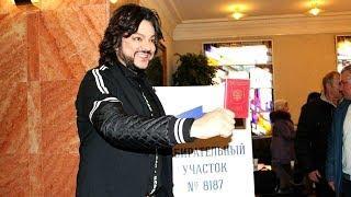 За кого Киркоров голосовал в Вильнюсе?