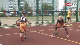 Учащиеся школы № 27 и жители мкр. Северный получили новую современную спортплощадку