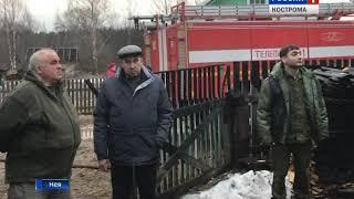 На пожаре в Костромской области погибли трое маленьких детей и их мать