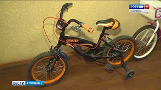 Смоленские полицейские поймали похитителей велосипедов