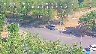 ДТП (авария г. Волжский) ул. Пушкина ул. Энгельса 13-06-2018 08-40