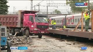 Новую платформу железнодорожного вокзала откроют  в сентябре