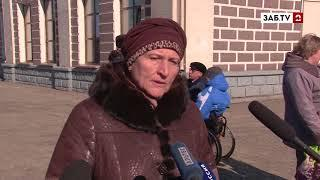 На Читинском вокзале прошёл рейд с участием инвалидов