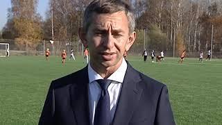 В поселке Щедрино прошла презентация нового футбольного поля
