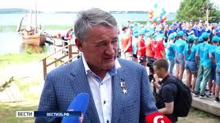 Международный фестиваль «Корабелы Прионежья» открылся в Вытегорском районе