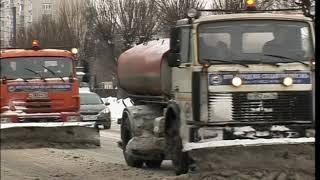 Коммунальные службы ликвидируют последствия снегопада в Ярославле