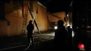 Загоревшуюся поликлинику в Башкирии тушили более семи часов