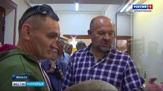 В Вельске с рабочим визитом побывали Игорь Орлов и Виктор Новожилов