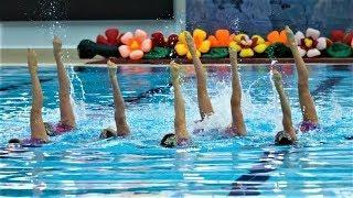 В Ханты-Мансийске стартовали соревнования по синхронному плаванию
