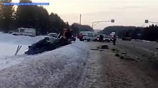 В Грязовецком районе в ДТП погиб пассажир «Мицубиси»