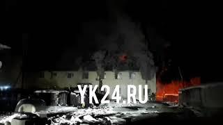 При пожаре в Жиганске жилой дом сгорел полностью - МЧС