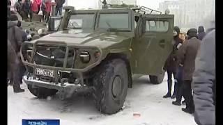 Концерт и выставка военной техники: в Ростове отметили День защитника Отечества