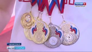 Урожай медалей привезли из Казани поморские легкоатлеты