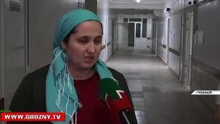 Спецборт МЧС РФ осуществляет перевозку тяжелобольного ребенка из Грозного на иногороднее лечение