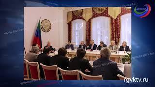 Врио главы республики встретился с депутатами Госдумы и бизнесменами из Дагестана