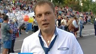 На набережной Енисея прошёл ежегодный концерт памяти Владимира Высоцкого