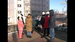 Проблемы из-за похолодания в Красноярске