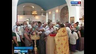 Престольный праздник отметил Свято Ильинский храм станицы Дондуковской