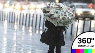 Вечером в столице ожидается гроза и сильный дождь