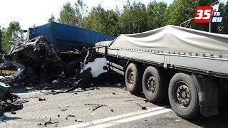 Под Вологдой в ДТП погибли два человека и один пострадал