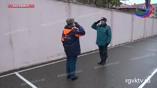 В Каспийске прошли учения по ликвидации последствий землетрясения