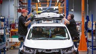 Почему General Motors заявила о закрытии пяти заводов? Обсуждение на RTVI