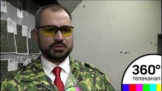 Максим Сурайкин посетил стрелковый центр ДОСААФ