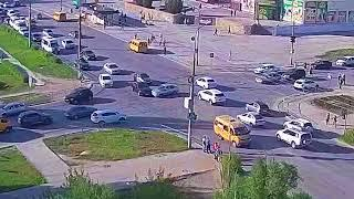 ДТП (авария г. Волжский) ул. Мира ул. Оломоуцкая 04-05-2018 17-05