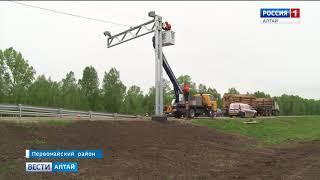 На главной федеральной трассе Алтайского края запустят современный комплекс весового контроля