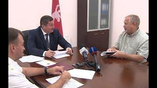 Губернатор Андрей Бочаров провел прием граждан
