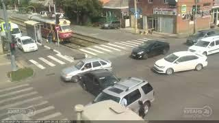 ДТП на ул. Красных Партизан и ул. Каляева 10.09.2018