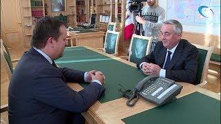 Губернатор Андрей Никитин предложил Юрию Бобрышеву баллотироваться в госдуму от Новгородской области