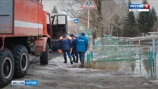 Более тысячи человек эвакуировали из подтопленных сёл в Алтайском крае