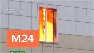 Посетителям в кемеровском ТЦ в начале пожара пришлось действовать самостоятельно - Москва 24