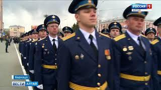В Барнауле прошла генеральная репетиция шествия военных