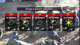 Прогноз погоды. Зима набирает обороты