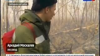 Амурские пожарные отправились в рейды по лесам на вездеходах