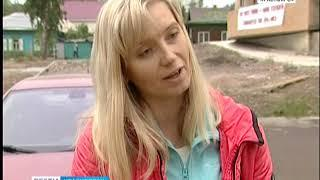 В Красноярске во дворе недостроенного дома дольщики разбили палатки