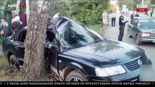 Шесть детей пострадали в ДТП в Ровенской области 17.06.18