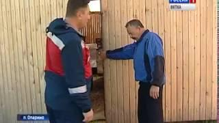 В Опаринском районе впервые после зимы вновь замечены волки(ГТРК Вятка)