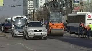 Вести-Хабаровск. Ремонт дорог в 2018