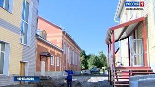 Черепановскую третью школу ремонтируют к новому учебному году