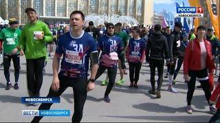Более двух тысяч новосибирцев приняли участие в «ЗаБеге»