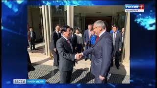 Продолжается официальный визит делегации Калмыкии в Китай