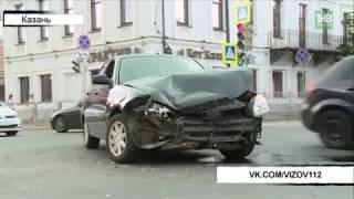 Крупная авария на пересечении улиц Астрономическая и Островского - ТНВ