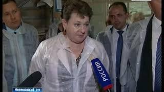 Рабочая поездка Орловой в Меленковский район