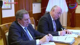 Глава Дагестана провел встречу с гендиректором компании «РусГидро»