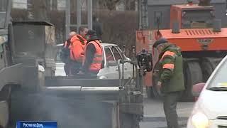 В апреле в Ростове начнутся дорожные работы