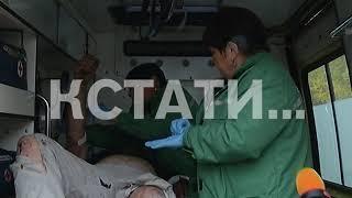 Бензовоз и тягач сошлись в лобовом столкновении на Казанской трассе