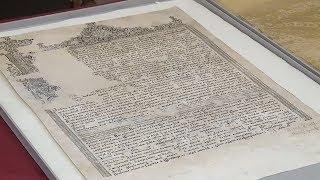 В краеведческий музей Саранска после реставрации вернулся документ с 345-летней историей